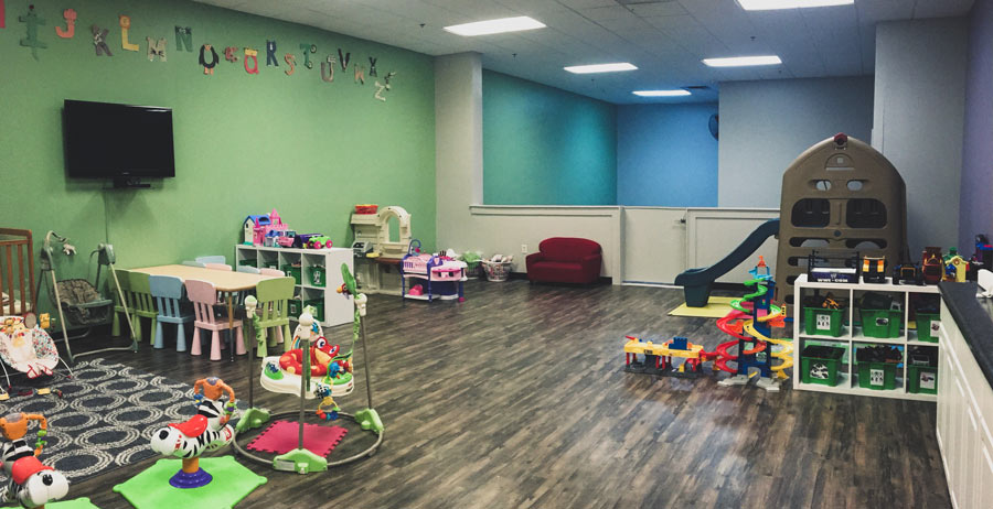 gym with childcare cedar falls