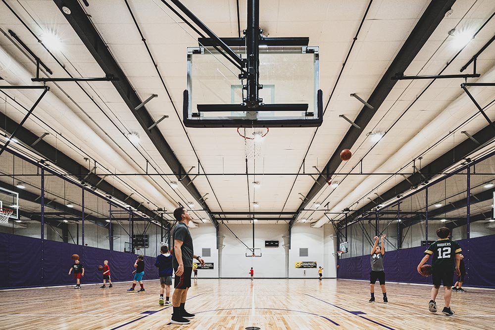 basketball courts for rent cedar falls iowa
