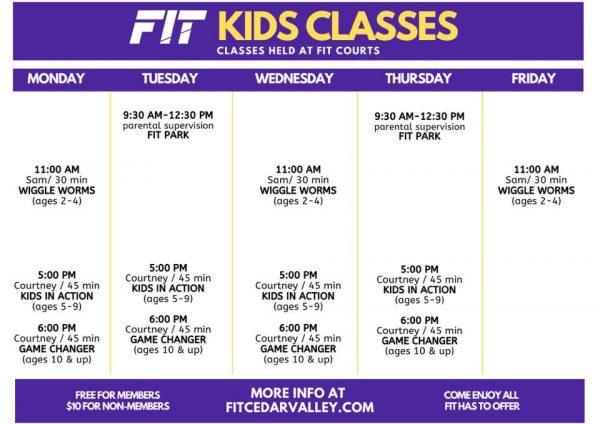 Kids March Classes