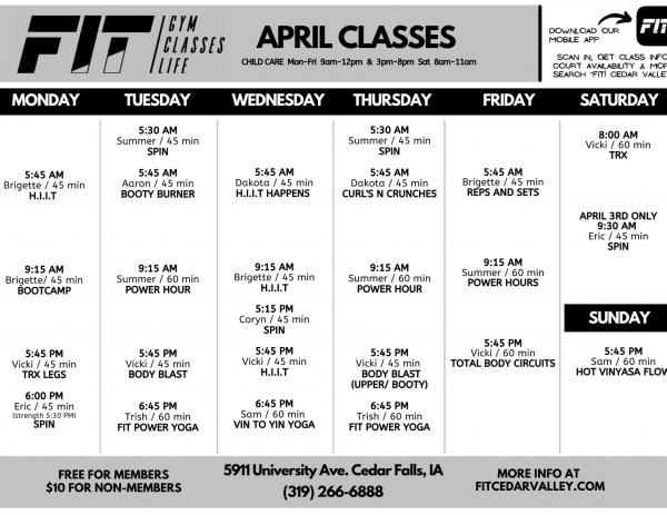 April 2021 University